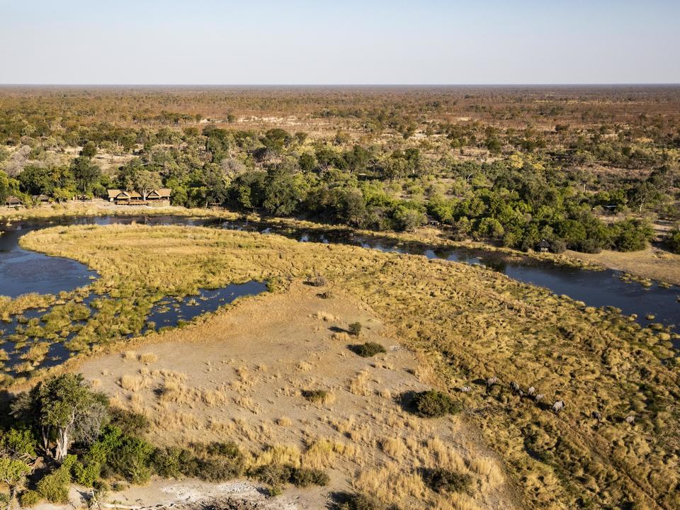 Das Camp ist nach der King's Pool Lagoon benannt