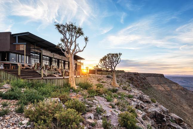 Accommodation - Highlights of Namibia - upmarket