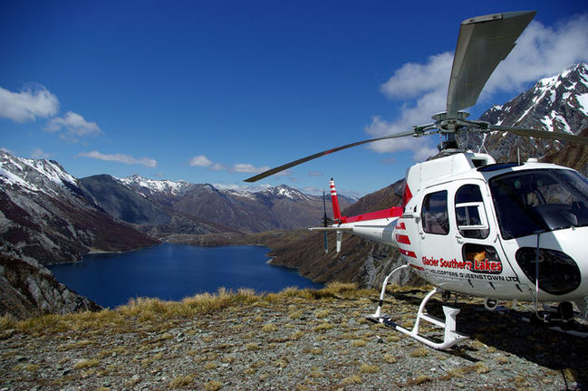 GlacierSouthernLakesHelicoptersQueenstown