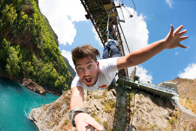 AJ Hackett Bungy New Zealand
