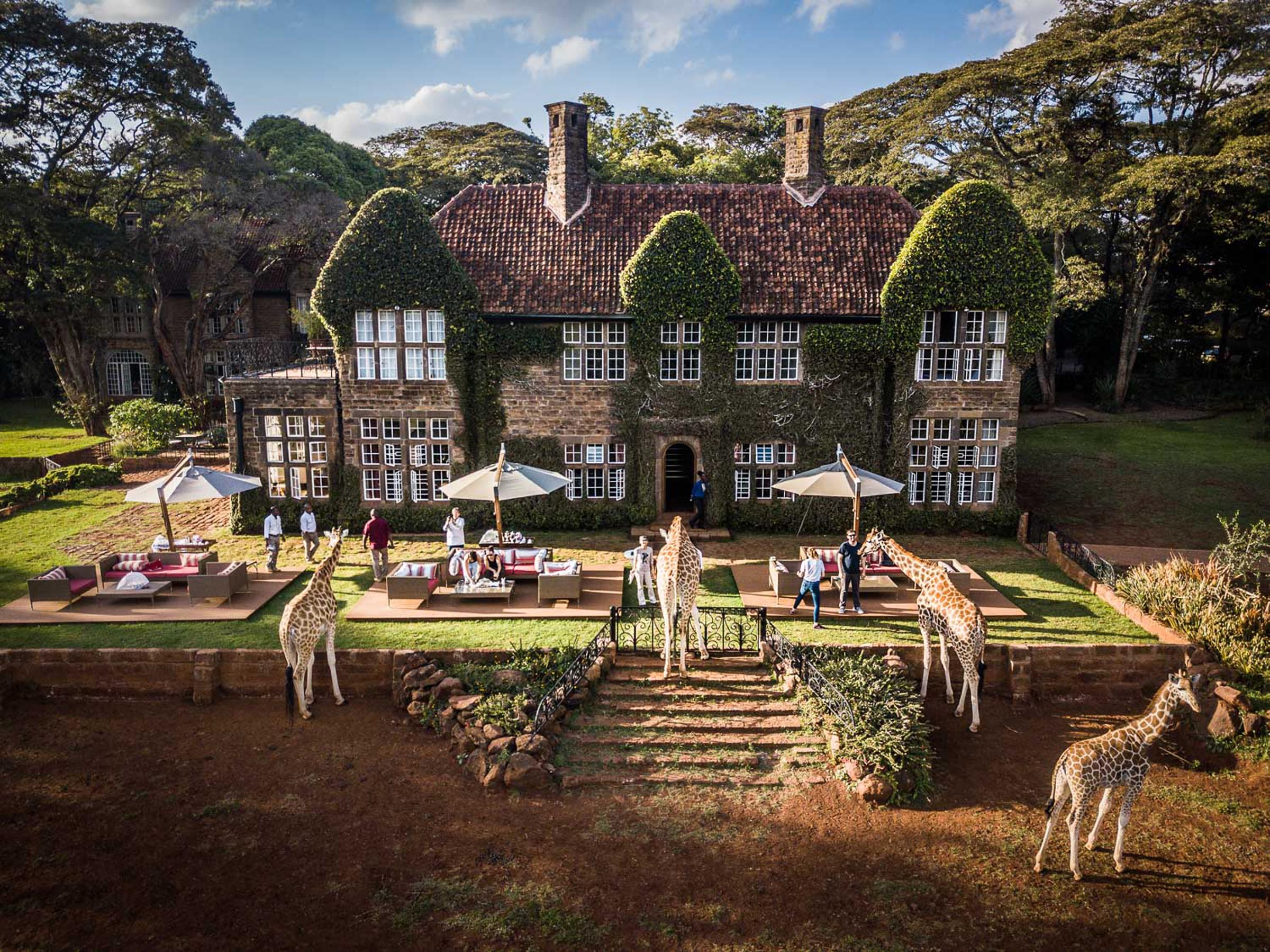 Giraffe Manor - Rooms