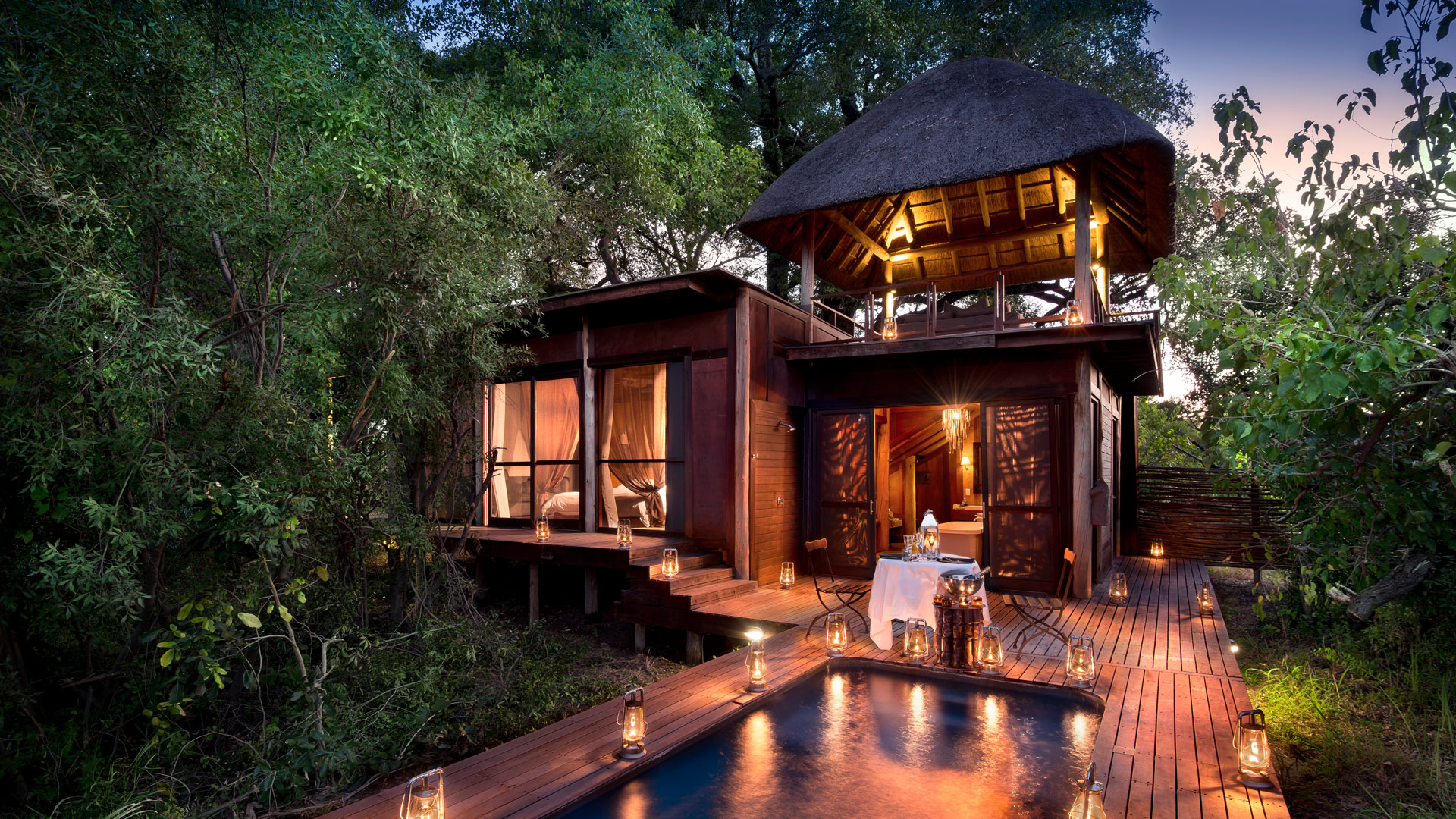 Andbeyond Xudum Okavango Delta Lodge Rooms