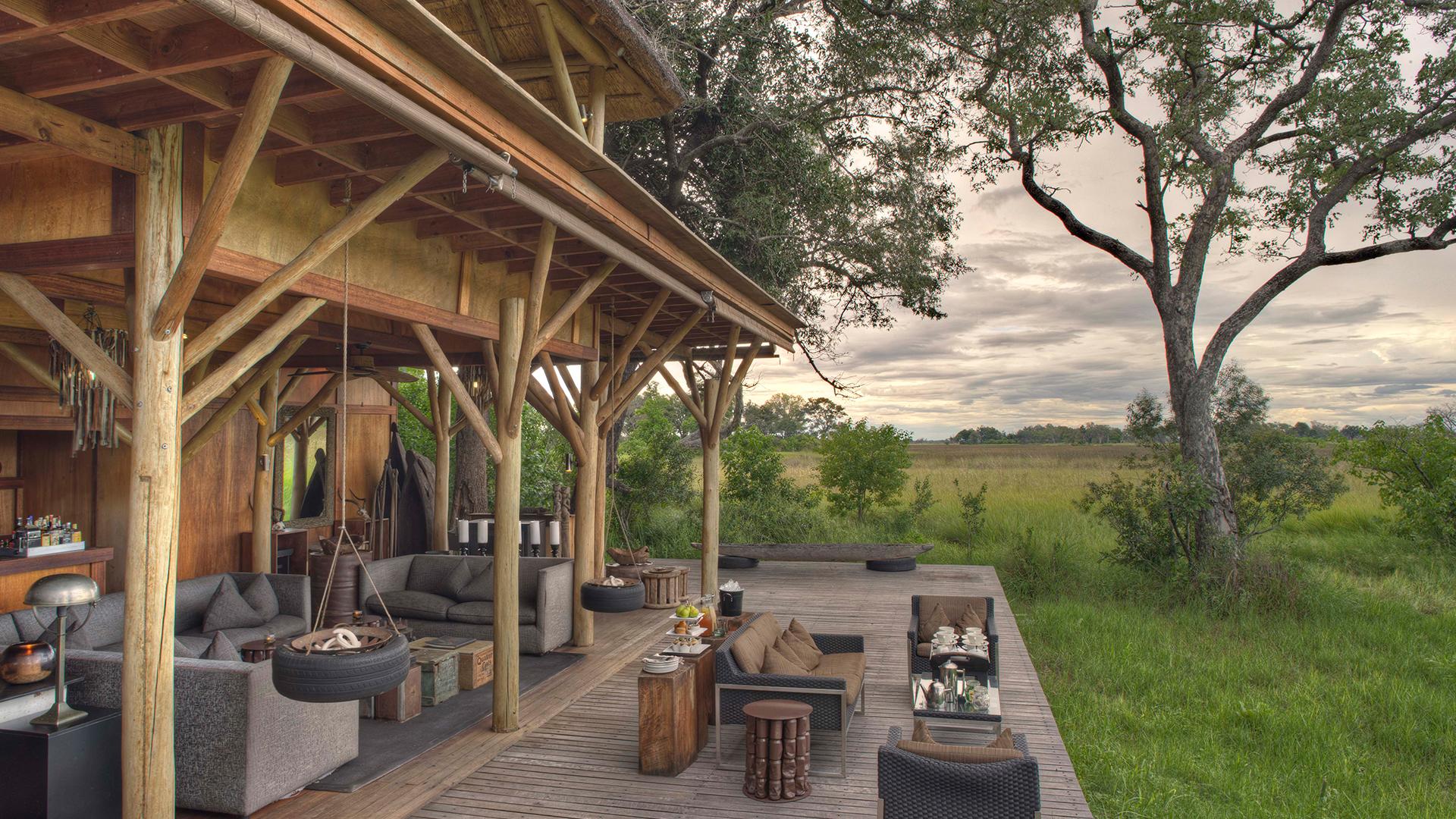 Kitchen Island Images Andbeyond Xudum Okavango Delta Lodge