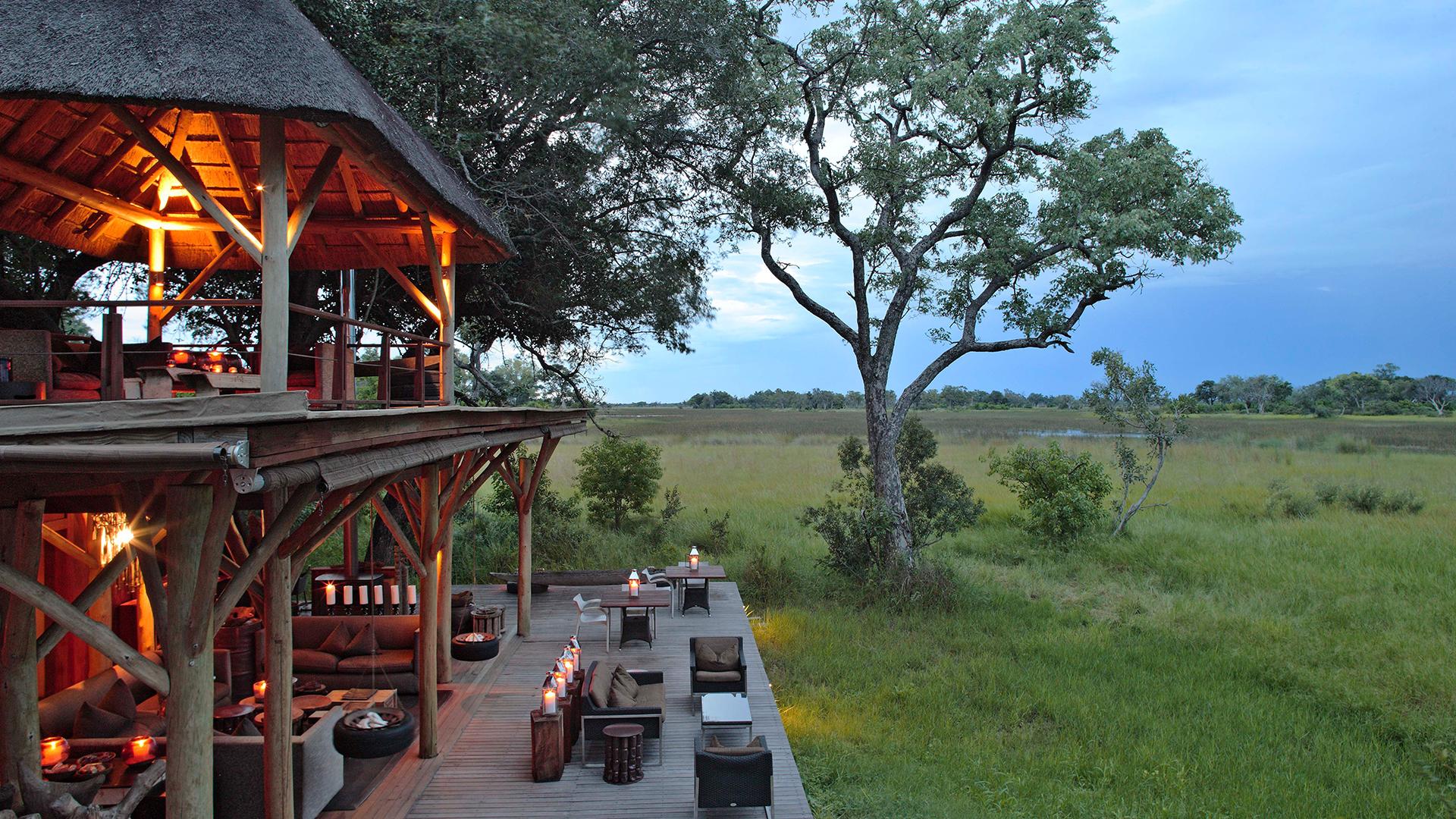 Andbeyond Xudum Okavango Delta Lodge