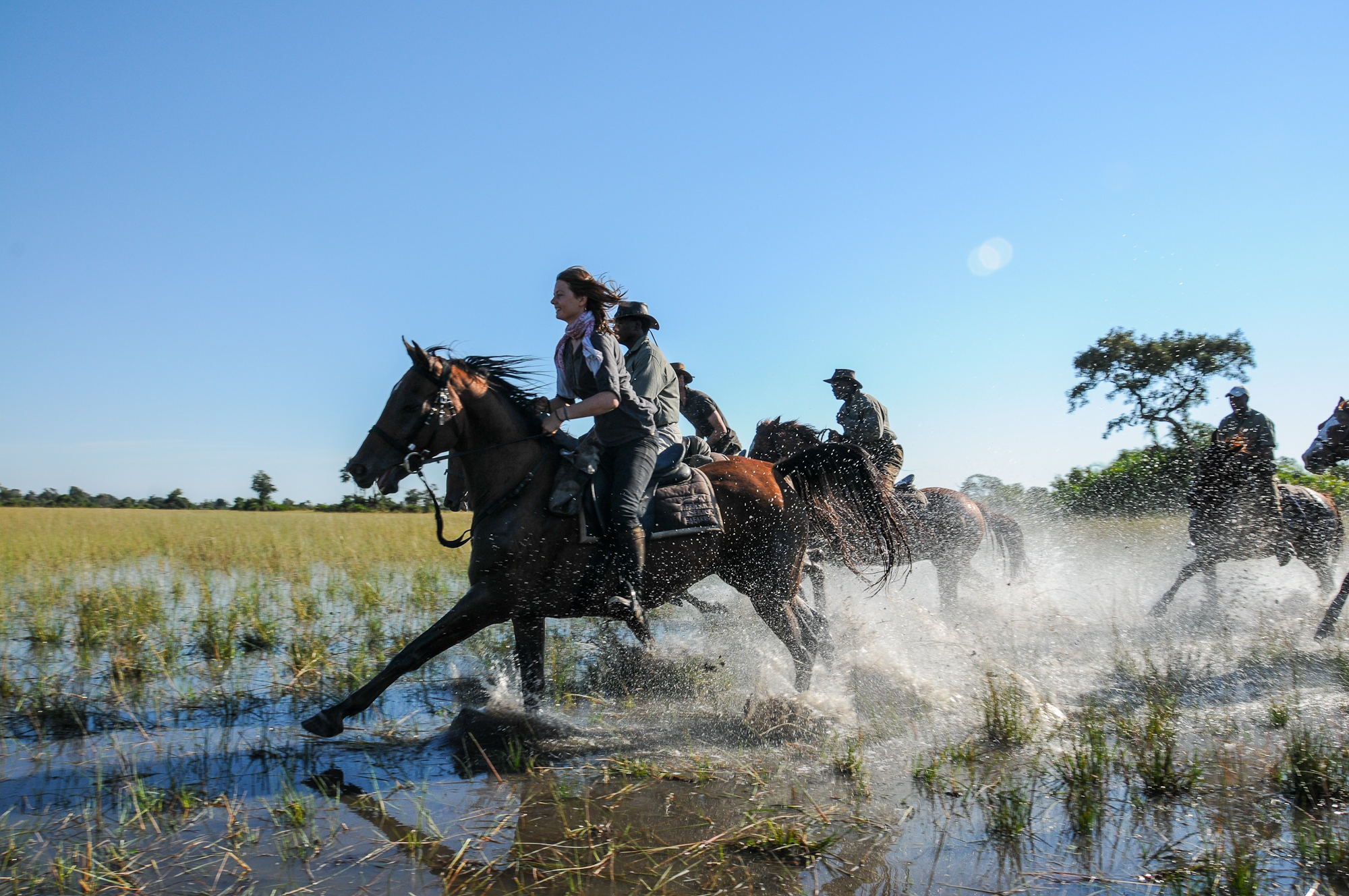 Macatoo Camp - African Horseback Safaris