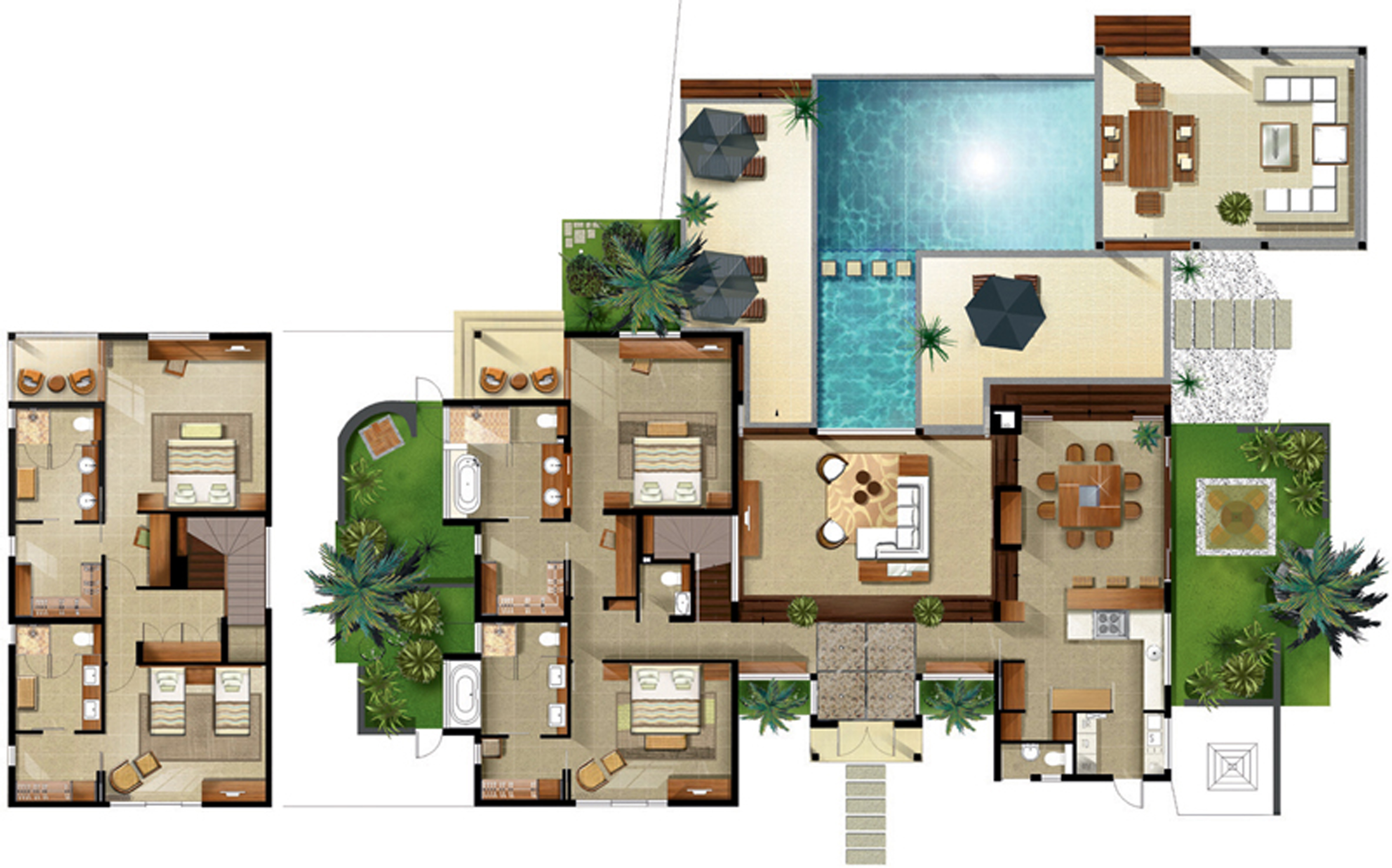Anahita golf spa resort about us for Maison de luxe plan
