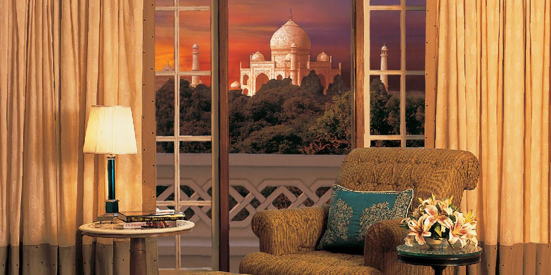 The oberoi amarvilas restaurants for Agra fine indian cuisine menu