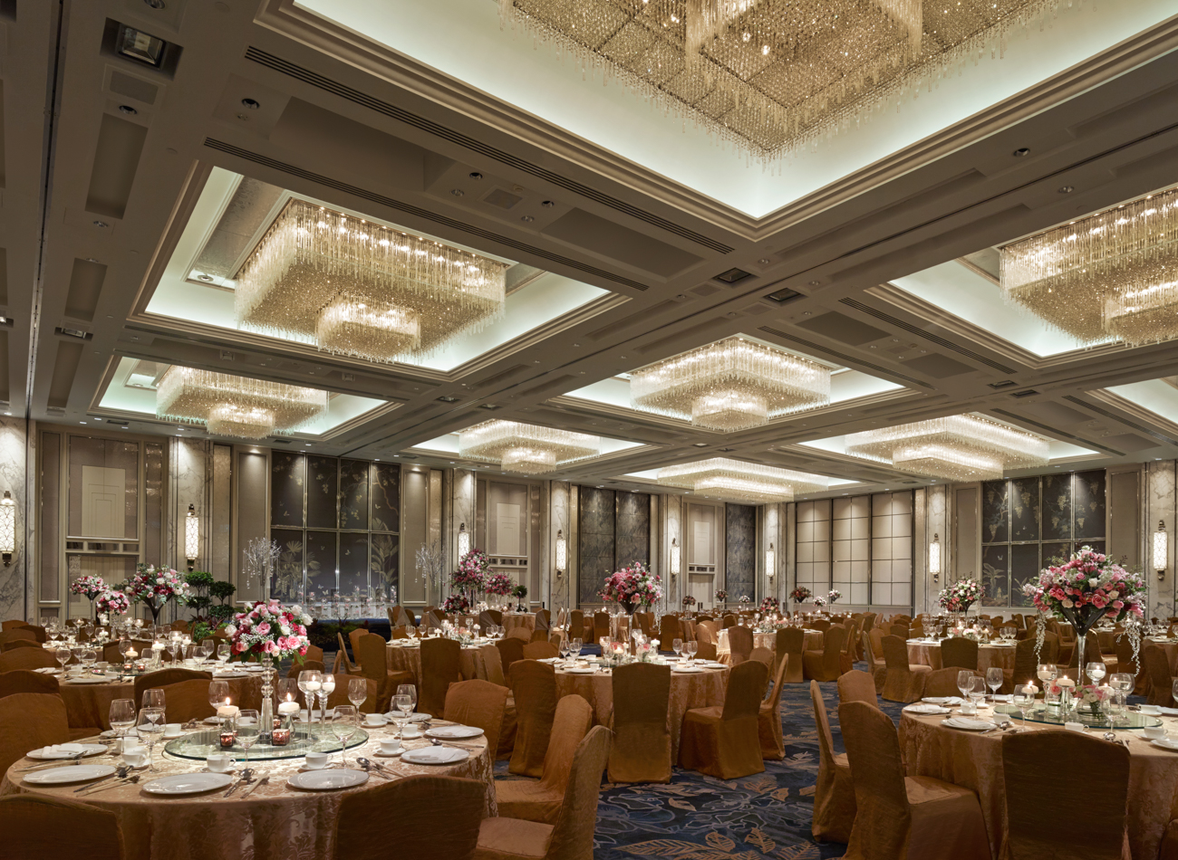 Shangri la hotel singapore for Afghan cuisine banquet hall